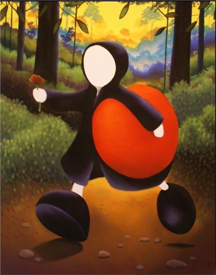 """Mackenzie Thorpe """"Forest Of Love"""" – SIGNED BY THE ARTIST – Limited Edition Serigraph On Paper"""