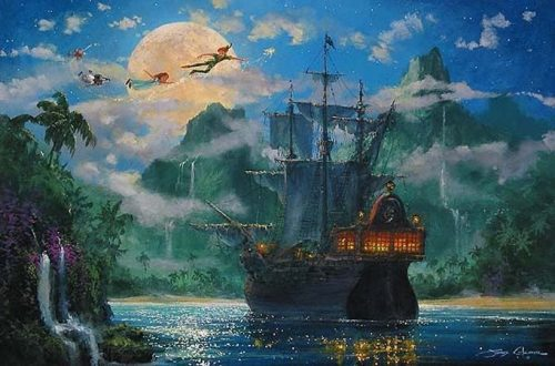 Moonrise Over Pirates Cove
