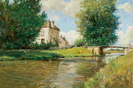 Canals Of Burgundy