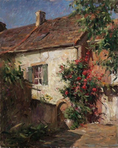 Cottage Of Roses